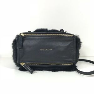 Givenchy mini Pandora fur leather